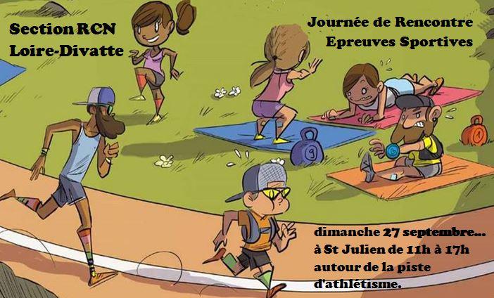 Journée de rencontre - Epreuves sportives le dimanche 27 septembre 2020
