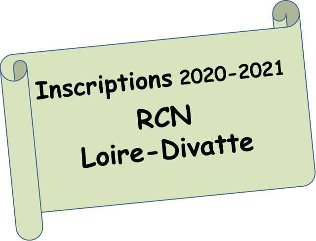 Inscriptions RCN