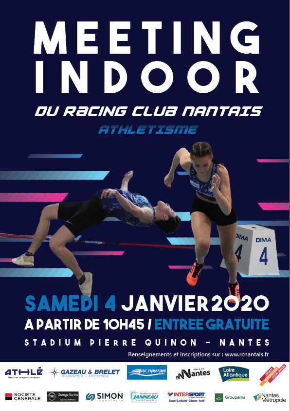 Affiche meeting indoor RCN 2020