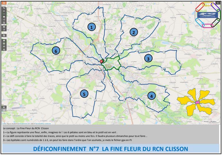 Les défis confinés du RCN Clisson ... suite