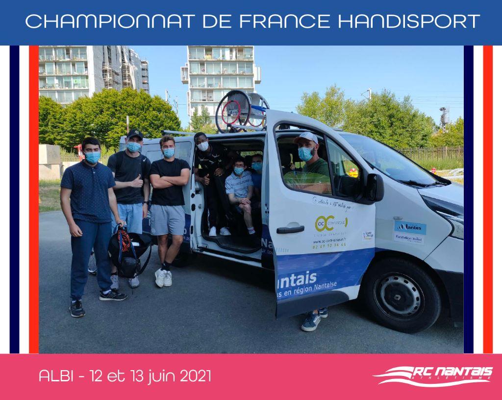 A suivre ce week-end : Championnat de France Handisport à Albi