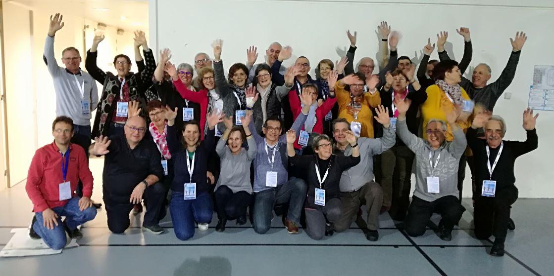 Remerciements aux bénévoles du Championnat de France de cross de Sport Adapté