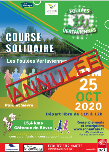 Foulees Veratviennes 2020 Annulation
