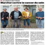 Octobre Rose : marche contre le cancer du sein