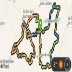 Prépa longue distance (sortie 50km) LOROUX LANDREAU REMAUDIERE - Cross'Athlon EA-PO ST JULIEN DE CONCELLES  (27/03/2021)